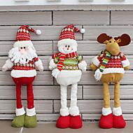 1個のランダムな折り畳み式の熱い販売のクリスマス装飾サンタクロース雪だるまクリスマスの置物