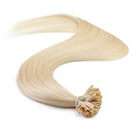 neitsi 16 '' 25グラムヨーロッパの人間の髪の毛の拡張子はストレート/ 60#を結合したuのネイルチップレミAAAAA品質ヘアP24を事前