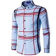 Button down-krave Tynd Herre - Ternet Bomuld Afslappet Skjorte