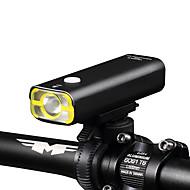 billige Sykkellykter og reflekser-LED Lommelygter Frontlys til sykkel Lommelykter LED XP-G2 Sykling Oppladbar Mulighet for demping Vanntett Enkel å bære 18650 400 Lumens