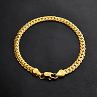 Femme Chaînes & Bracelets - Plaqué or Bracelet Argent / Doré Pour Mariage / Soirée / L'obtention du diplôme