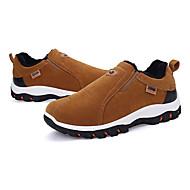 お買い得  メンズ アスレチックシューズ-男性用 靴 スエード 春 秋 スニーカー ハイキング のために カジュアル アウトドア ブラック グレー イエロー