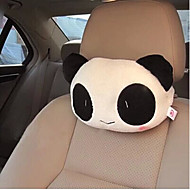 cheap Novelty Pillows-Car Headrest  Cute Cartoon Panda  Plush Car With Pillow  The Head Pillow Cushion and Pillow For Car  (Random Type)