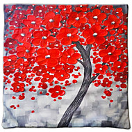 The 3D Trees Painting Style Series Of Three-Dimensional Pattern Painting Style Cloth Pillow No. 2 Fillow Cover