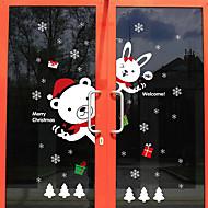 アートデコ 現代風 ドアステッカー,PVC /ビニール 材料 窓の飾り