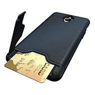 billiga Mobil cases & Skärmskydd-fodral Till OnePlus Ett plus 3 Korthållare med stativ Skal Ensfärgat Hårt PC för One Plus 3 One Plus 3T OnePlus