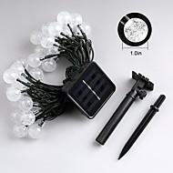 billige -Jiawen 4.5m 30leds 8 modus utendørs vanntett solar ledet streng lys