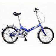 Folding Bikes Ciclismo 7 Velocidade 20 polegadas Unissex / Masculino / Mulheres Freio em V Comum Dobrável Comum AçoVermelho / Amarelo /
