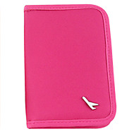 Travel Wallet Passport Holder & ID Holder Waterproof Dust Proof Portable for Travel StorageBlack Orange Gray Rose