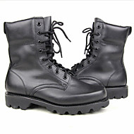 Bărbați Pantofi Piele Confortabili Cizme Pentru Casual Negru