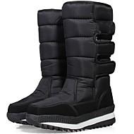 Uniseks Cipele spandex tkanina Zima Jesen Udobne cipele Čizme za snijeg Čizme za Kauzalni Vanjski Crn Plava