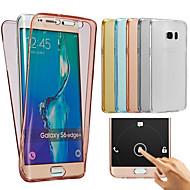 Samsung Galaxy J7 2016 esetben TPU teljes test védő átlátszó fedélen esetben j1 j2 j3 J5 J7 2016