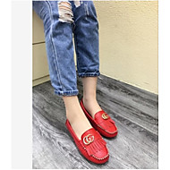 Women's Loafers & Slip-Ons Comfort Pigskin Casual Red / White / Gray
