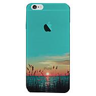 Til iPhone 8 iPhone 8 Plus iPhone 7 iPhone 6 iPhone 5 etui Etuier Gennemsigtig Bagcover Etui Landskab Blødt TPU for Apple iPhone 8 Plus