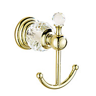 cheap Bathroom Hardware-Robe Hook Contemporary Brass Crystal 1 pc - Hotel bath
