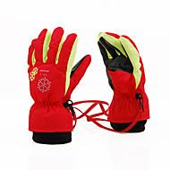 Ski-Handschuhe Vollfinger / Winterhandschuhe Kinder Sporthandschuhe warm halten / Atmungsaktiv Skifahren / Freizeit SportNylon /