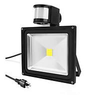 levne Venkovní osvětlení-LED halogeny Senzor Přenosná Snadná instalace Voděodolné Venkovní osvětlení Teplá bílá Chladná bílá AC 85-265V