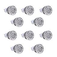 tanie Więcej Kupujesz, Więcej Oszczędzasz-10pcs 7W GU10 Żarówki punktowe LED 7 Diody lED SMD 3030 Ciepła biel Zimna biel 600-700lm 2800-3200/6000-6500