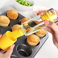 1枚 餃子 ブラシ For 肉のための / 調理器具のための プラスチック / シリコーン / グラス クリエイティブキッチンガジェット / 多機能