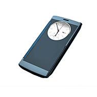 billiga Mobil cases & Skärmskydd-fodral Till LG / LG G4 LG-fodral med fönster / Plätering Fodral Enfärgad Hårt Akrylfiber för