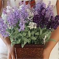billige Kunstige blomster-Gren Ledning Lyseblå Bordblomst Kunstige blomster 39 x 8 x 8(15.4'' x 3.14'' x 3.14'')