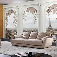 JAMMORY 3D Wallpaper For Home Contemporary Wall Covering Canvas Material Roman TowerXL XXL XXXL