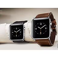 billiga Smart klocka Tillbehör-Klockarmband för Apple Watch Series 3 / 2 / 1 Apple Klassiskt spänne Läder Handledsrem