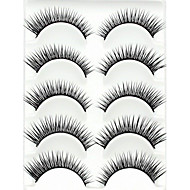 Eyelashes lash Full Strip Lashes Eyelash Crisscross Natural Long Lengthens the End of the Eye The End Is LongerExtended Lifted lashes