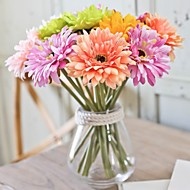 hesapli -5 şube İpek Plastik Others Masaüstü Çiçeği Yapay Çiçekler