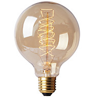 e27 40w g80 wire bar bubble dragon edison retro decorativo lampada filamento