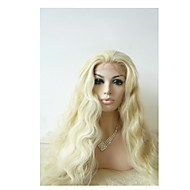 Sylvia Synthetic Lace front Wig Blonde Heat Resistant Long Natual Wave Synthetic Wigs