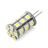 billige Bi-pin lamper med LED-1pc 2w dimmable g4 ledte bi-pin lys 24 leds 5050 varm hvit kald hvit for lysekrone rv bil dc 12v