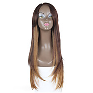 preiswerte Tres Jolie®-Synthetische Lace Front Perücken Glatt Braun Damen Spitzenfront Spitze-Perücke Synthetische Haare