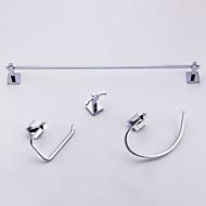 Bad Zubehör-Set Zeitgenössisch 50 64.5 Handtuchhalter Handtuchring WC-Rollenhalter Kleiderhaken Wand befestigend