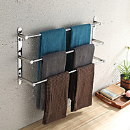 cheap Stainless Steel Series-Towel Bar High Quality Contemporary Stainless Steel 1 pc - Hotel bath 3-towel bar