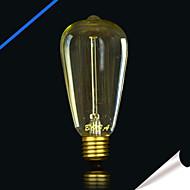 billige Glødelampe-bofa st64 13ak 25w antikk edison silke ball boble lampe (85v-265v)