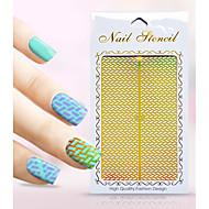 Sanat Sticker Nail El Geçme Manikür Stencil Tırnak Takısı Karton Çiçek Sevimli Makyaj Kozmetik Sanat Tasarım Nail