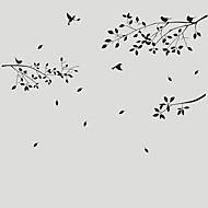 Χαμηλού Κόστους Αυτοκόλλητα Τοίχου-Διακοσμητικά αυτοκόλλητα τοίχου - Animal αυτοκόλλητα τοίχου Ζώα / Βοτανικό Σαλόνι / Υπνοδωμάτιο / Τραπεζαρία / Πλένεται