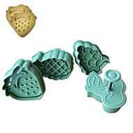 Bakeform Dyr For Kake For Cupcales For Terte Plast Miljøvennlig Høy kvalitet Gør Det Selv