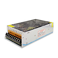 SPD-240w accesorios cctv 12V20A sistema de cámara de metal transformador de alimentación - plata (ac 110-220v)