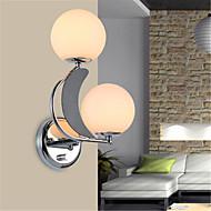 billige Vegglamper-moderne / moderne vegglamper& sconces metallvegglampe 110-120v / 220-240v 10w