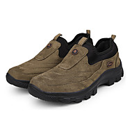 ieftine Papuci de Munte-Bărbați Adidași de Atletism Toamnă Iarnă Confortabili Lână Casual Toc Plat Altele Maro Verde Bleumarin Drumeții