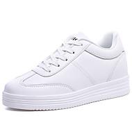 tanie Small Size Shoes-Męskie Buty Płótno Wiosna Jesień Gladiatorki Comfort Buty do lekkiej atletyki na Atletyczny Casual Na wolnym powietrzu White Black
