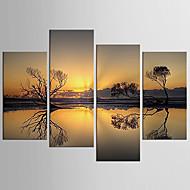 baratos -canvas Set Famoso Retratos Abstratos Moderno Pastoril,4 Painéis Tela Qualquer Forma Impressão artística wall Decor For Decoração para casa
