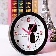 billiga Väckarklockor-kreativa härliga katt klocka skrivbord klockan skrivbord väckarklockan bordsklocka kreativt hem dekorativa mode mute klockor