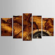 Недорогие Картины и постеры-С картинкой Абстракция / Известные картины Классика / Стиль 5 панелей