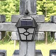 レトロなLEDソーラーライトは屋外ガーデンソーラー壁ランプ防水経路ソーラーLED街路灯のフェンス屋上テラスの照明を導きました