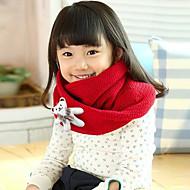 Fete Eșarfe-Iarnă Îmbrăcăminte tricotată Roșu