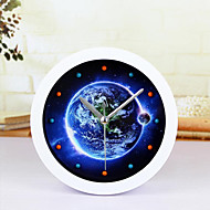criativa relógio terra despertador relógio de mesa mesa mesa relógio criativo de moda casa decoração relógios mudos
