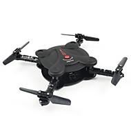 Drone FQ777 FQ777-17W 4CH 6 Eksen 0.3MP HD Kamera ile FPV LED Aydınlatma Başsız Mod 360 Derece çevirilebilir Uçuş Erişim Gerçek Zamanlı